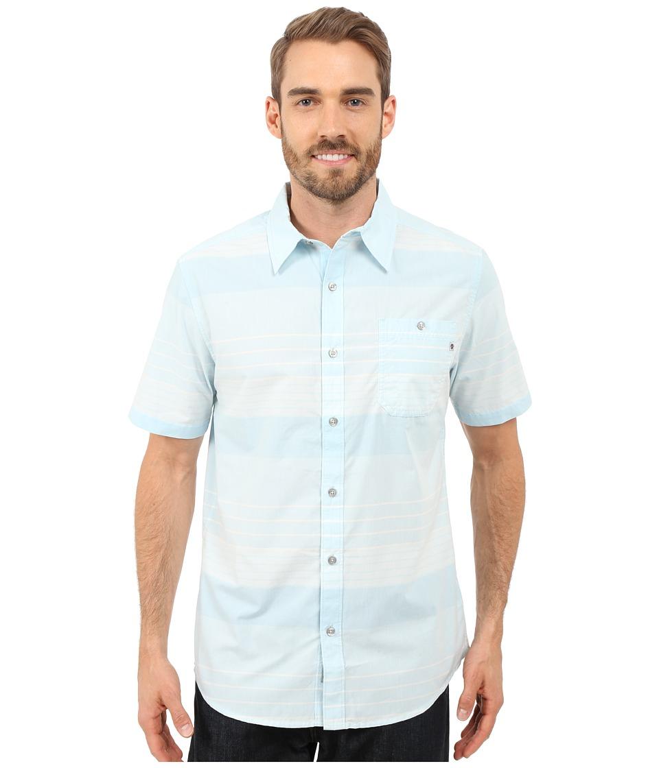 Marmot - Pismo Short Sleeve (Air Blue) Men's Short Sleeve Button Up