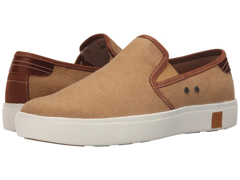 Timberland - Amherst Slip-On (Brown) Men's Slip on Shoes