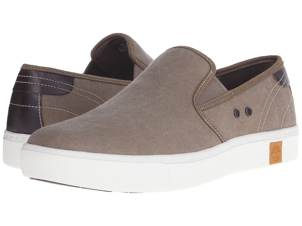 Timberland - Amherst Slip-On (Teak) Men's Slip on Shoes
