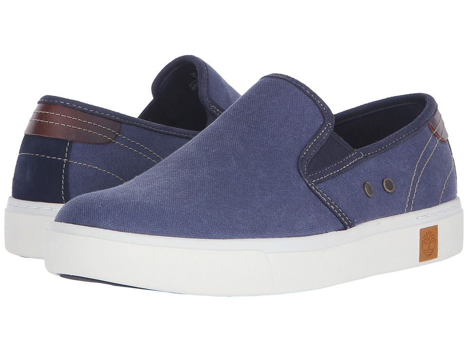 Timberland - Amherst Slip-On (Navy) Men's Slip on Shoes