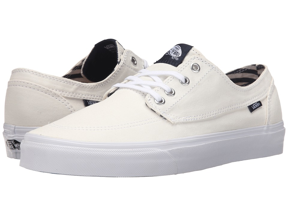 Vans - Brigata ((Deck Club) True White) Skate Shoes
