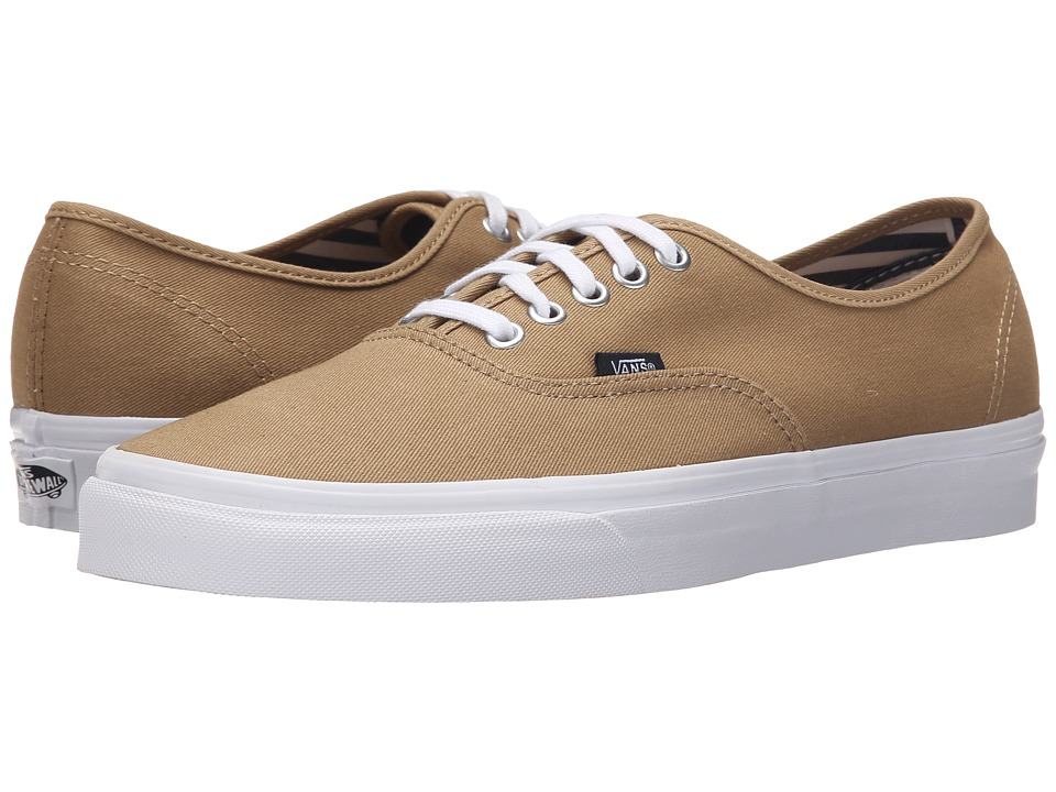 Vans Authentic ((Deck Club) Khaki) Skate Shoes