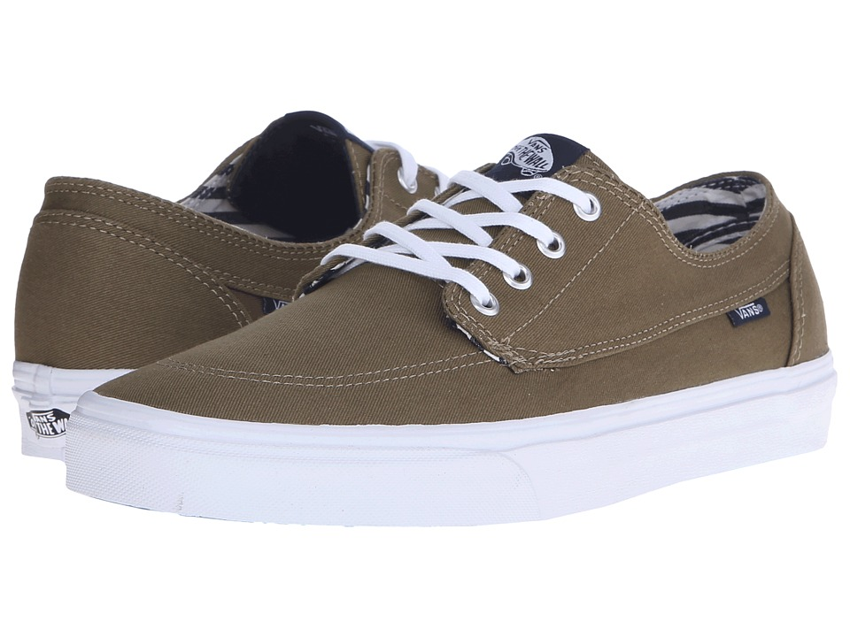 Vans - Brigata ((Deck Club) Covert Green) Skate Shoes