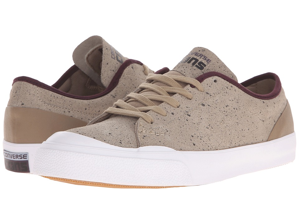 Converse - CONS Sumner Ox (Sandy/Black Cherry/White) Men's Lace up casual Shoes