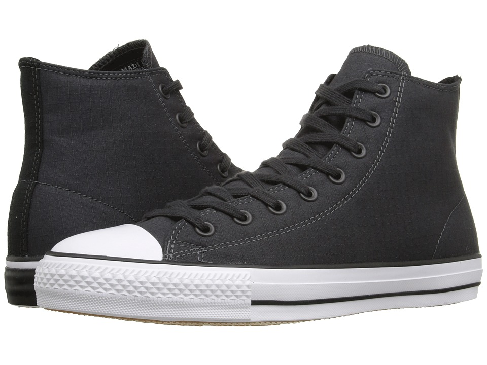 Converse - Chuck Taylor All Star Pro Hi (Almost Black/My Van Is On Fire/Black) Men's Lace up casual Shoes
