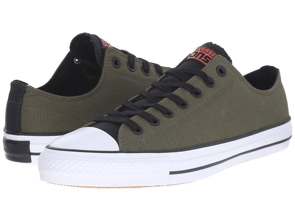 Converse - Chuck Taylor All Star Pro Ox (Herbal/Black/White) Men's Lace up casual Shoes