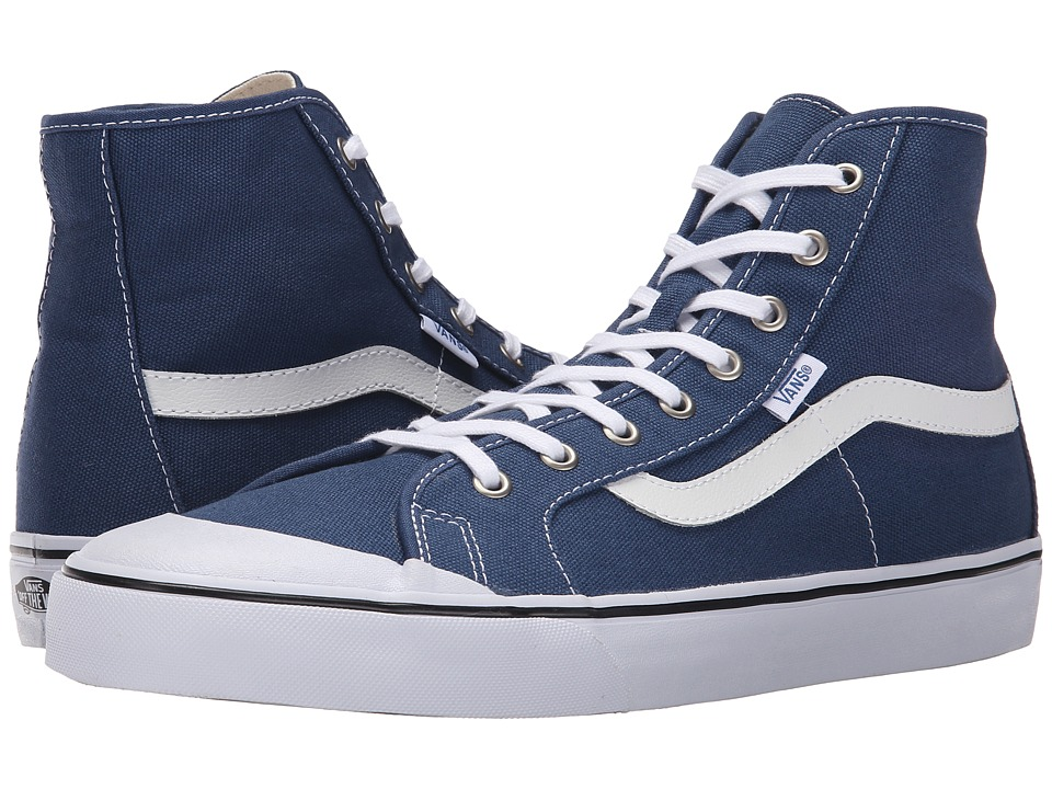 Vans - Black Ball Hi SF (Ensign Blue) Men's Shoes