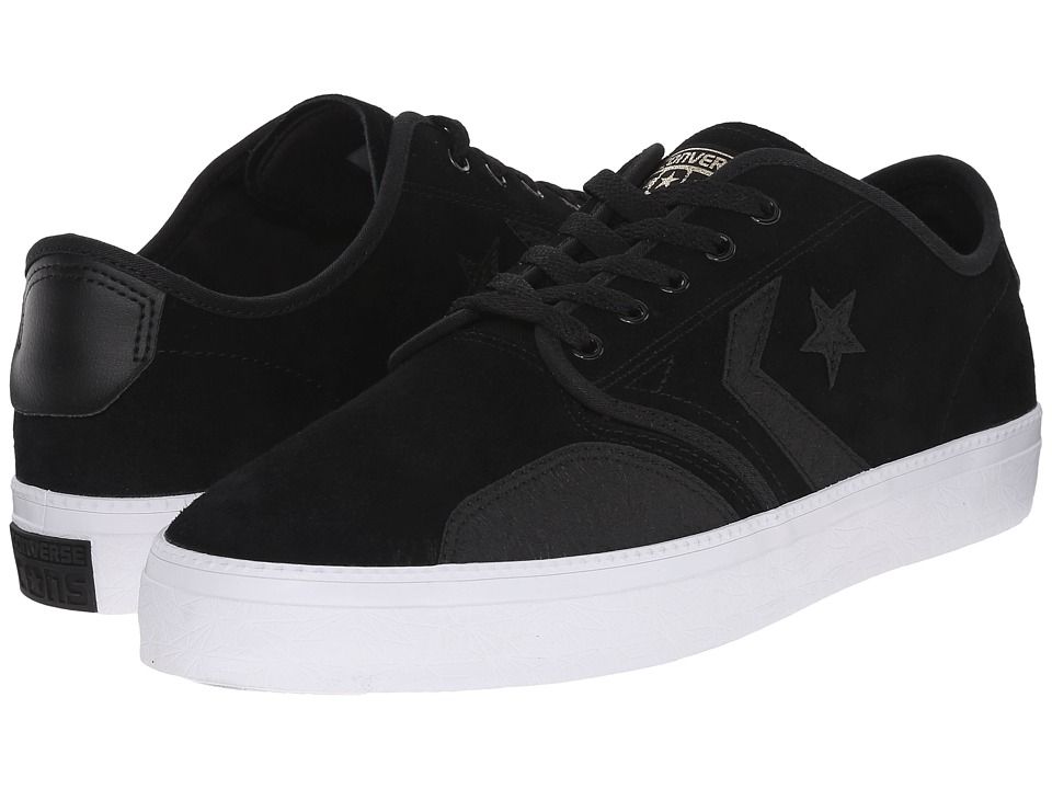 Converse CONS Zakim Ox (Black/Black/Gold) Men