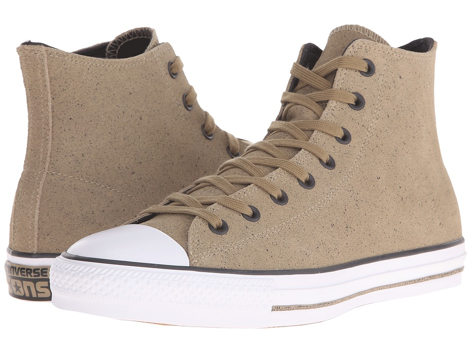 Converse - Chuck Taylor All Star Pro Hi (Chcolate/Almost Black/White) Men's Lace up casual Shoes