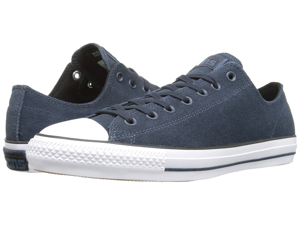 Converse - Chuck Taylor All Star Pro Ox (Steel Can/Black/White) Men's Lace up casual Shoes