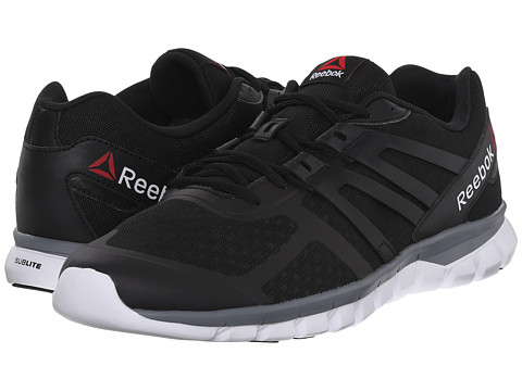 Reebok - Sublite XT Cushion MT (Black/White/Alloy/Flat Grey) Men
