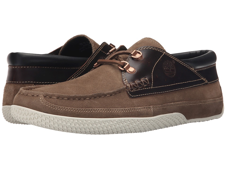 Timberland - Camp 73 Camp Moc (Taupe Suede) Men's Lace up casual Shoes