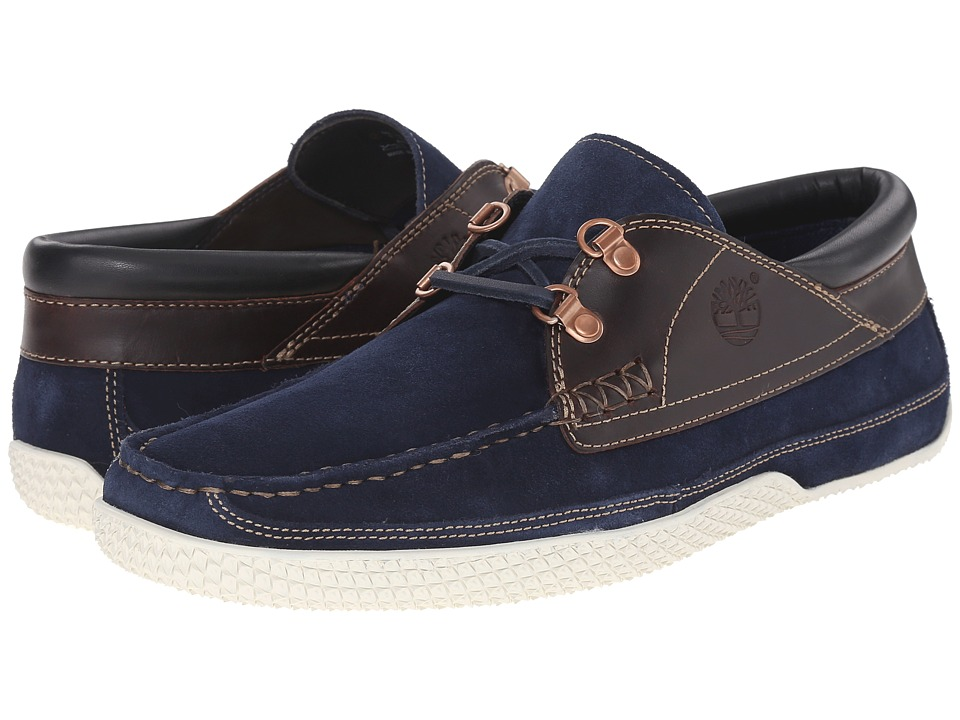 Timberland - Camp 73 Camp Moc (Navy) Men's Lace up casual Shoes