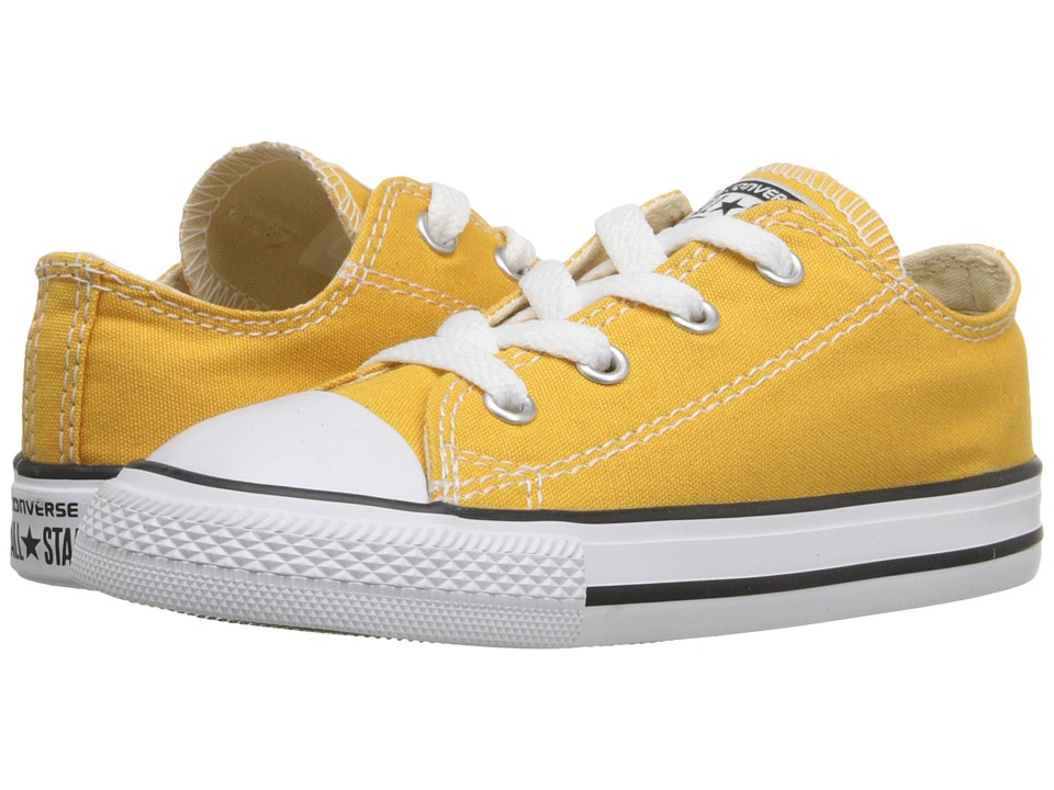 Converse Kids - Chuck Taylor All Star Ox (Infant/Toddler) (Solar Orange) Kids Shoes