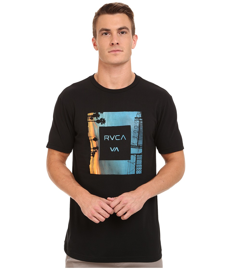 RVCA - Skyline 2 Tee (Black) Men's T Shirt