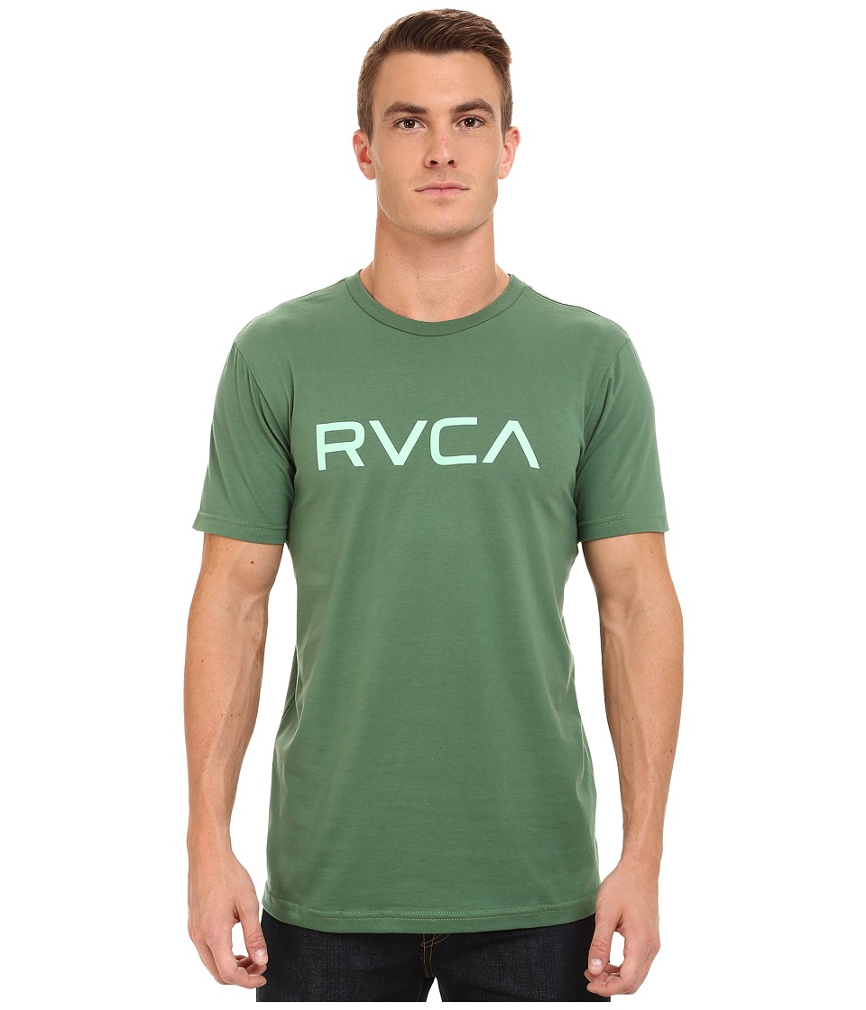 RVCA - Big RVCA Tee (Foliage) Men's T Shirt