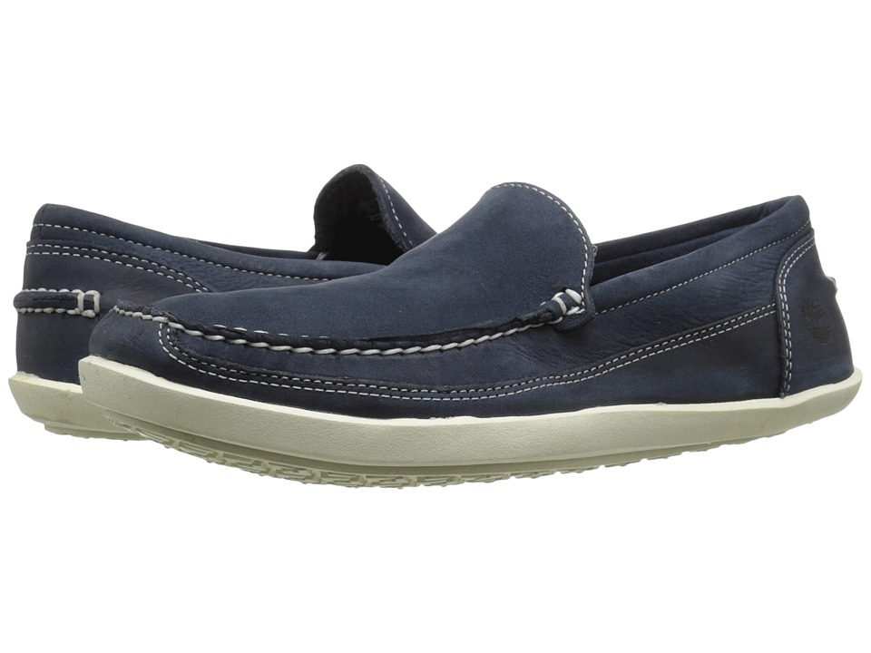 Timberland - Odelay Venetian (Navy Nubuck) Men's Slip on Shoes