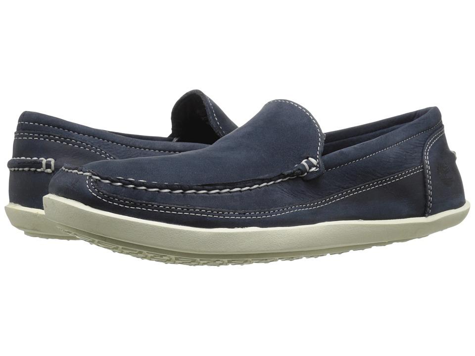Timberland - Odelay Venetian (Navy Nubuck) Men's Slip on Shoes