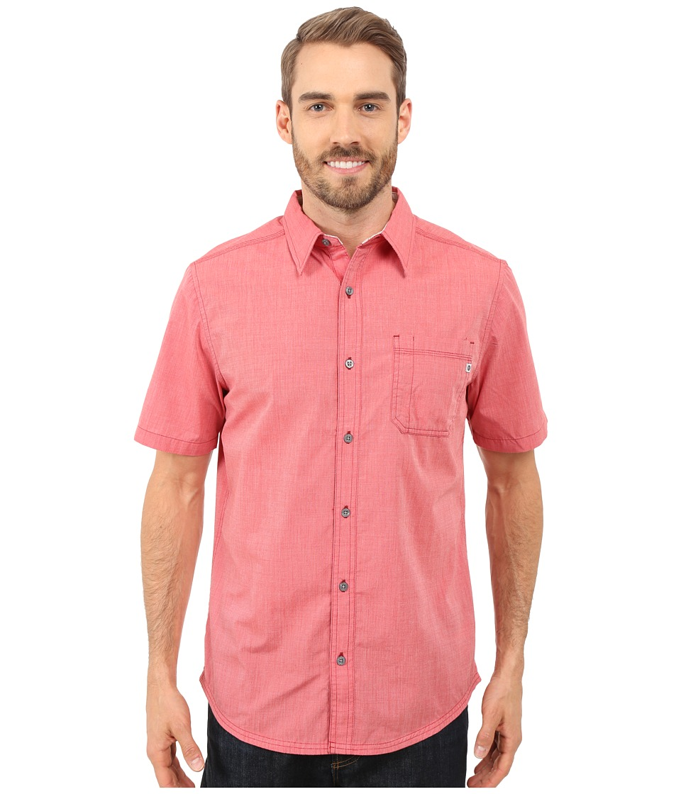 Marmot - Dorset Short Sleeve (Sunwashed Red) Men's Short Sleeve Button Up
