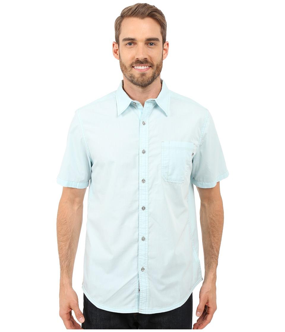 Marmot - Dorset Short Sleeve (Light Blue) Men's Short Sleeve Button Up