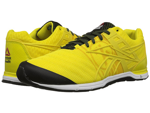 Reebok - CrossFit Nano Speed (Ultimate Yellow/Lemon Pepper/Primal Green/Frog Green/Black) Men's Cross Training Shoes