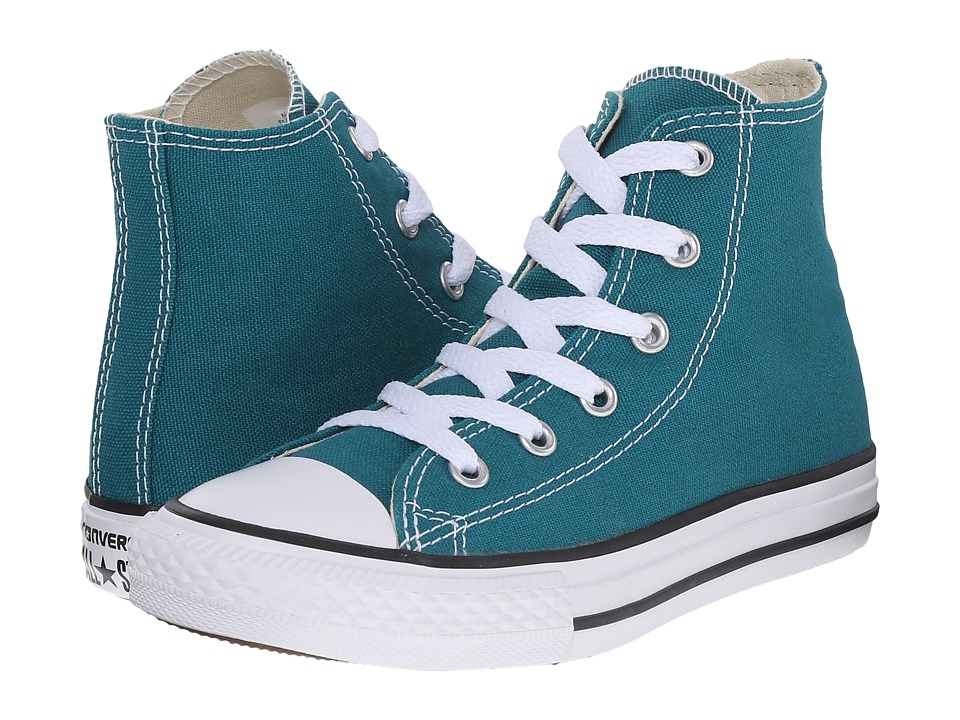 Converse Kids - Chuck Taylor All Star Hi (Little Kid) (Rebel Teal) Kids Shoes