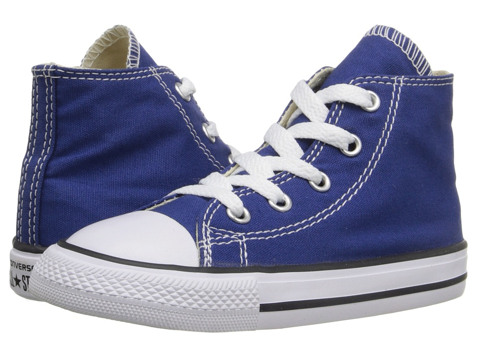 Converse Kids Chuck Taylor All Star Hi (Infant/Toddler) (Roadtrip Blue) Kids Shoes