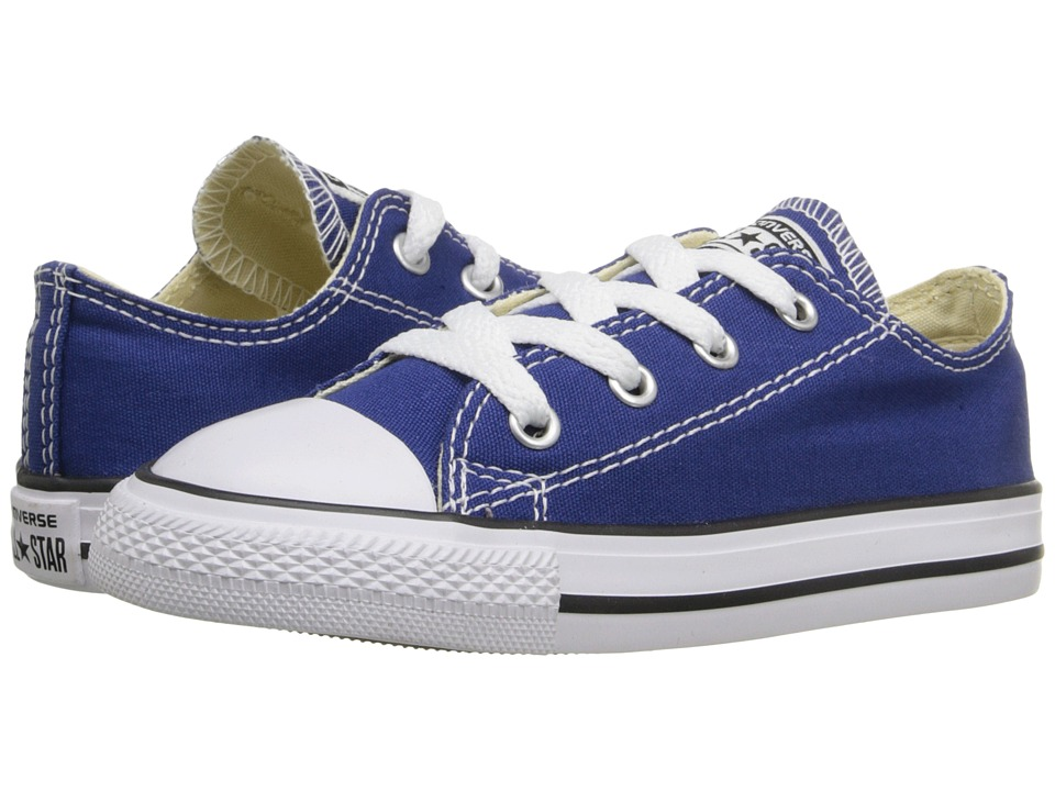 Converse Kids - Chuck Taylor All Star Ox (Infant/Toddler) (Roadtrip Blue) Kids Shoes