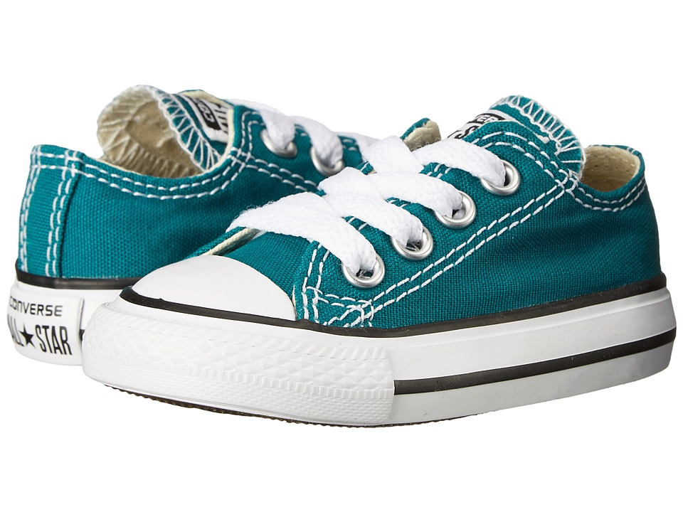 Converse Kids - Chuck Taylor All Star Ox (Infant/Toddler) (Rebel Teal) Kids Shoes