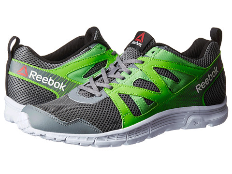 Reebok - Run Supreme 2.0 MT (Alloy/Solar Green/Bright Green/White/Black) Men's Cross Training Shoes