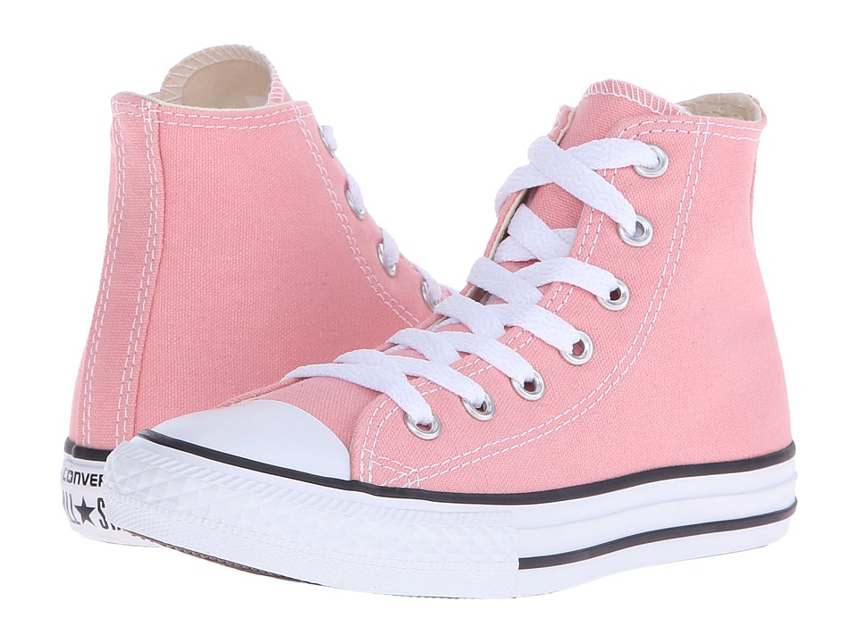 Converse Kids - Chuck Taylor All Star Hi (Little Kid) (Daybreak Pink) Girls Shoes