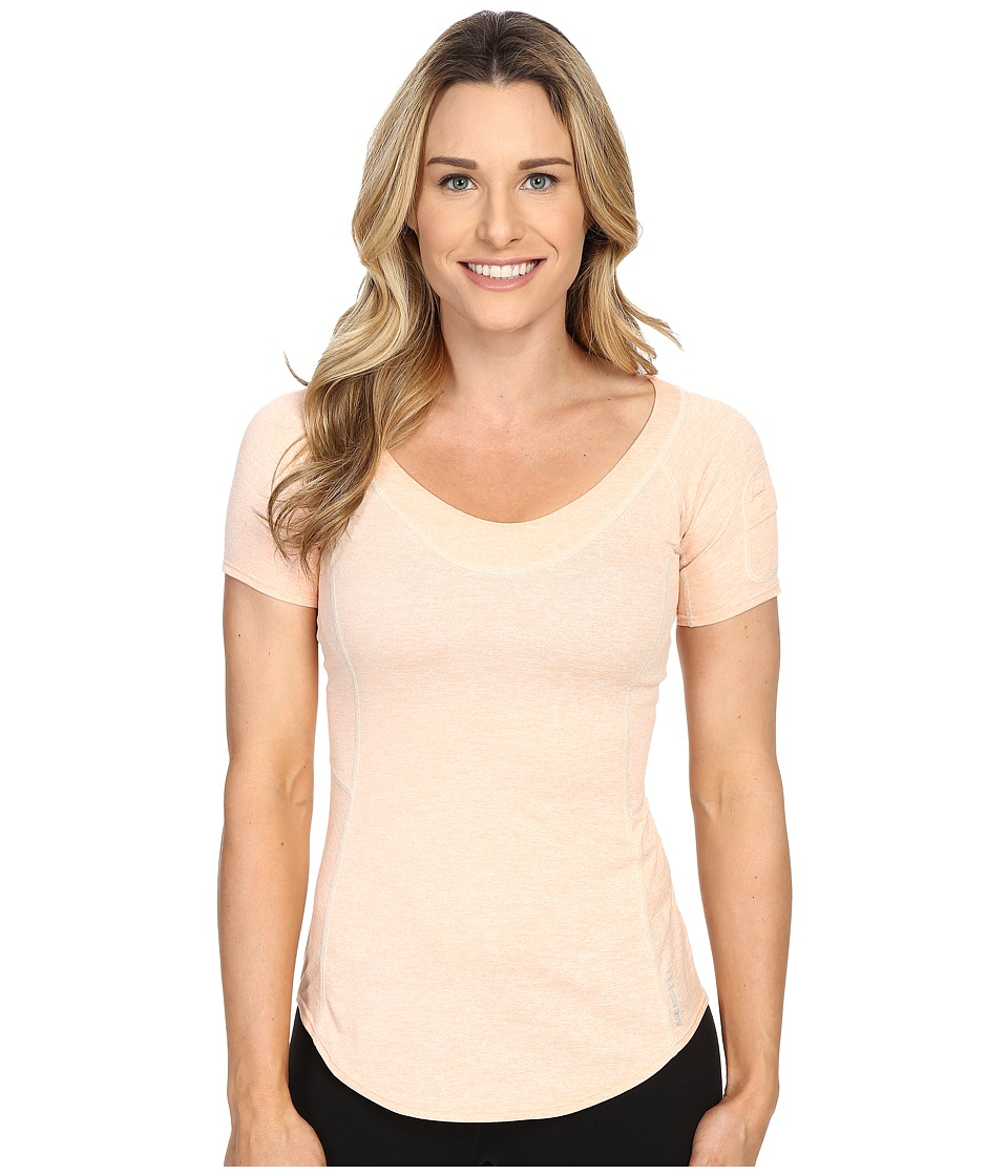 Merrell Helio Tee 2.0 (Peach Nectar Heather) Women