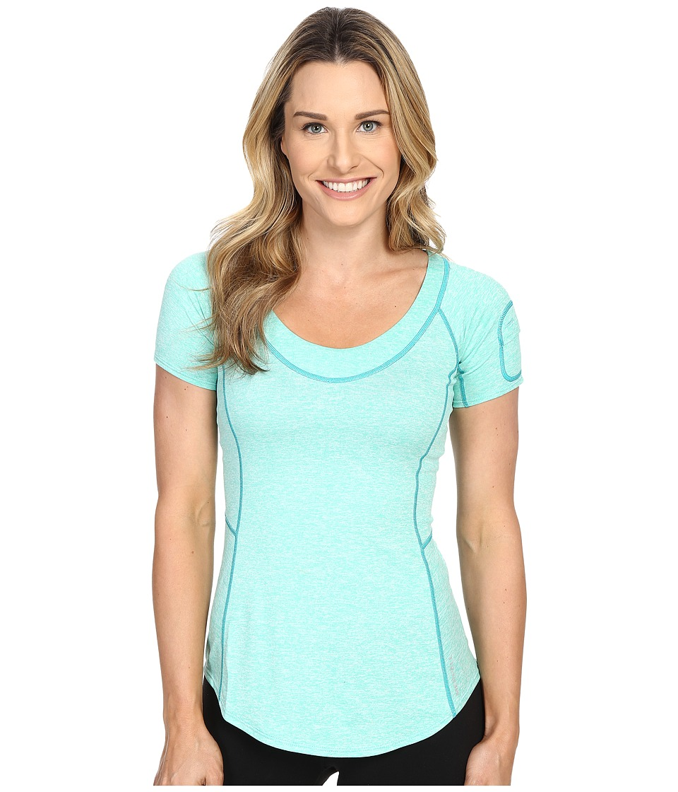Merrell - Helio Tee 2.0 (Cockatoo Heather) Women's Short Sleeve Pullover