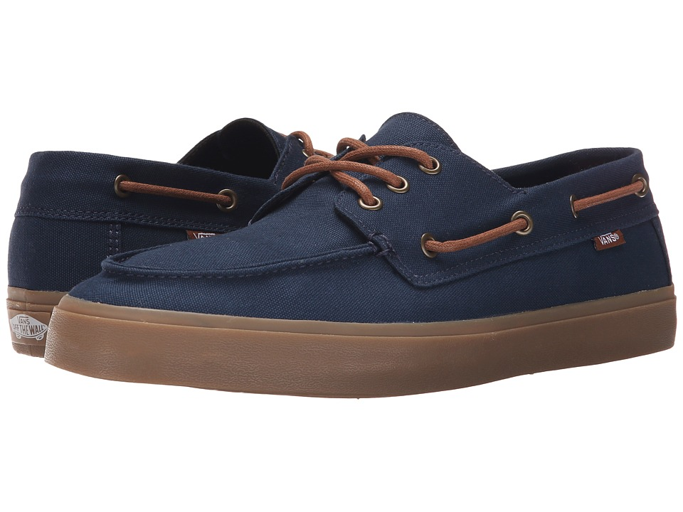 Vans - Chauffeur SF (Navy/Gum) Men's Shoes