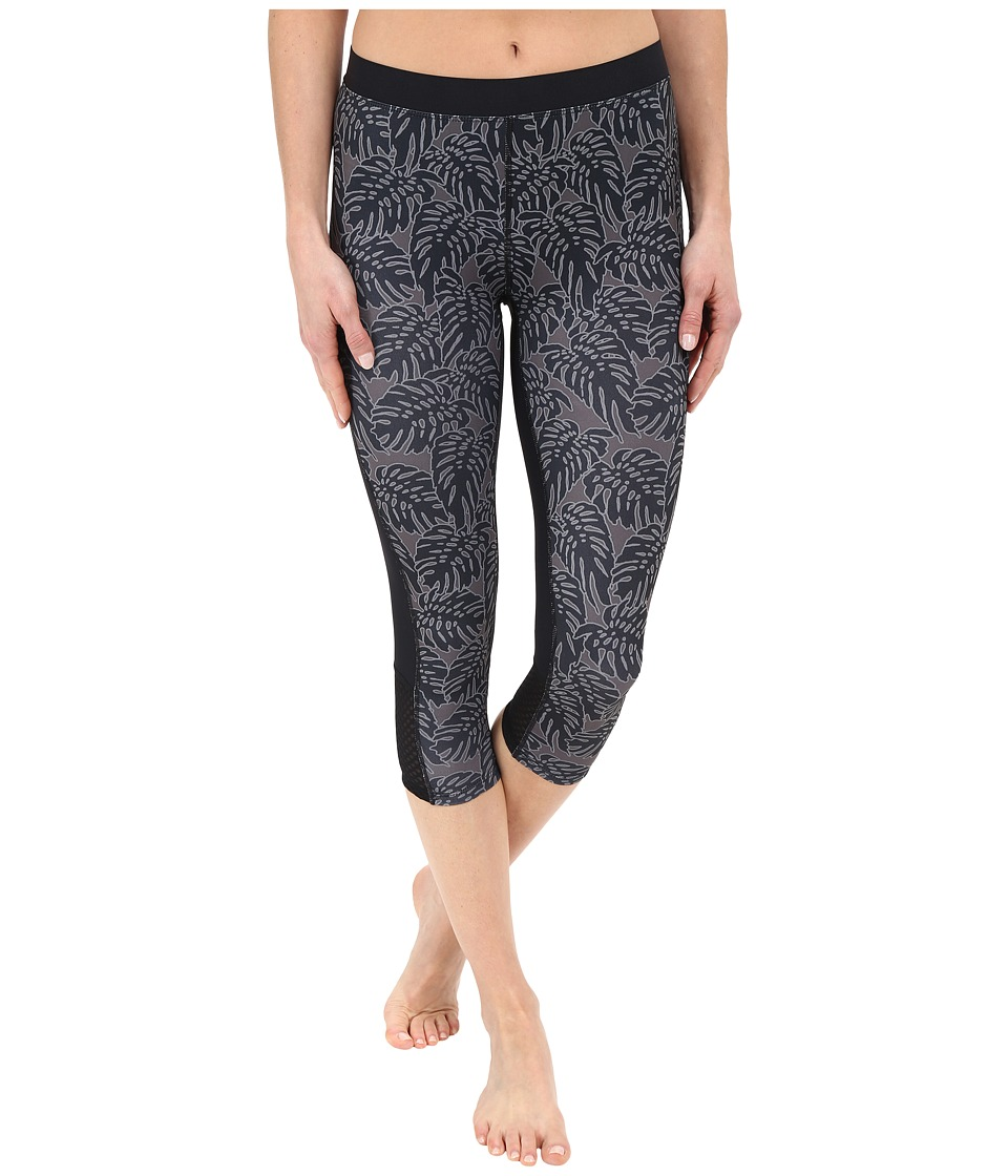 Merrell - Mistique Capri Tights (Black Print) Women's Capri
