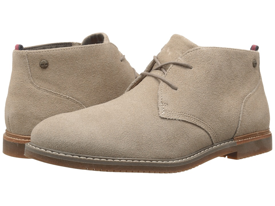 Timberland - Earthkeepers Brook Park Chukka (Light Tan Suede) Men's Lace-up Boots