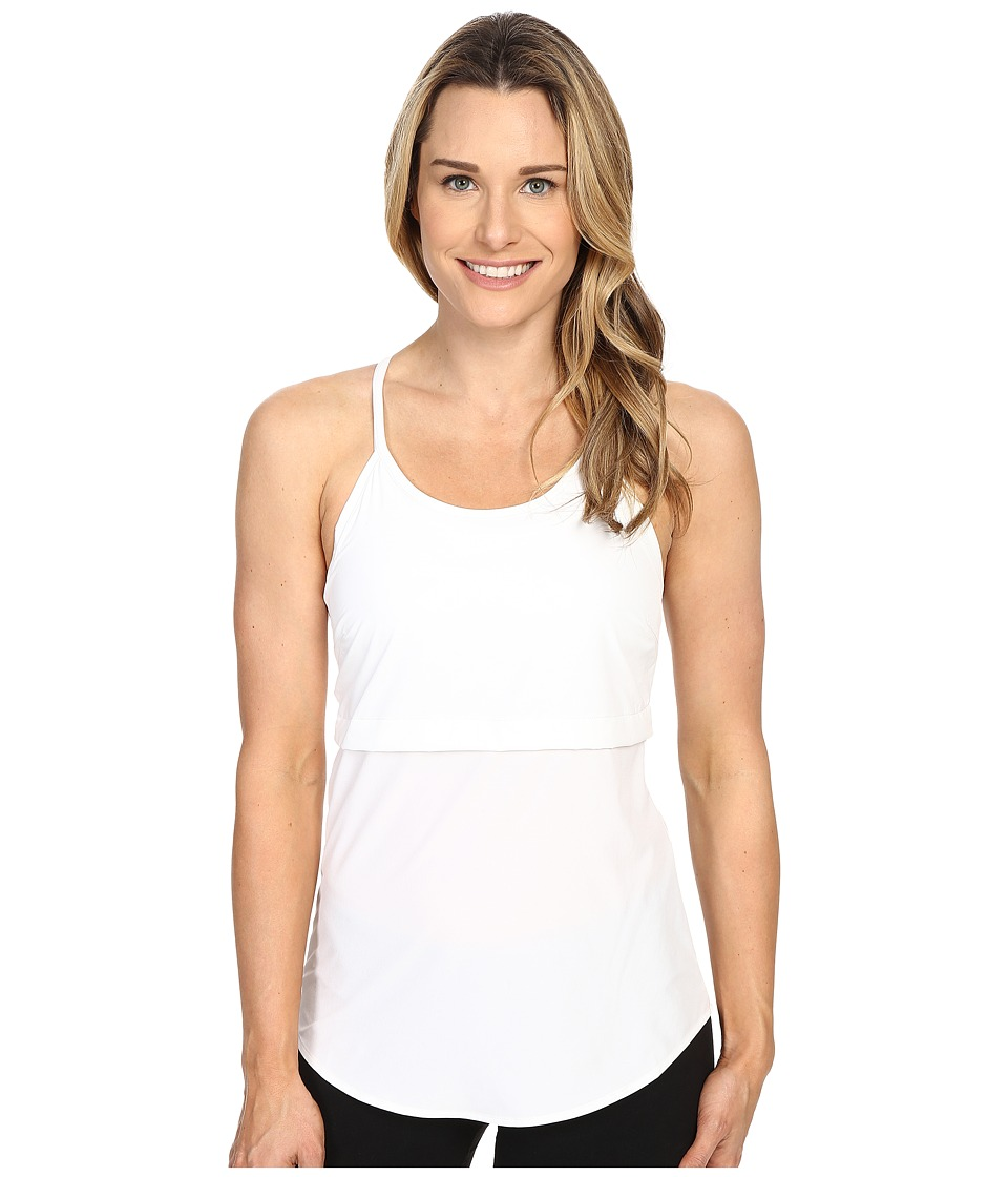Merrell - Passiflora Tank Top (White) Women's Sleeveless