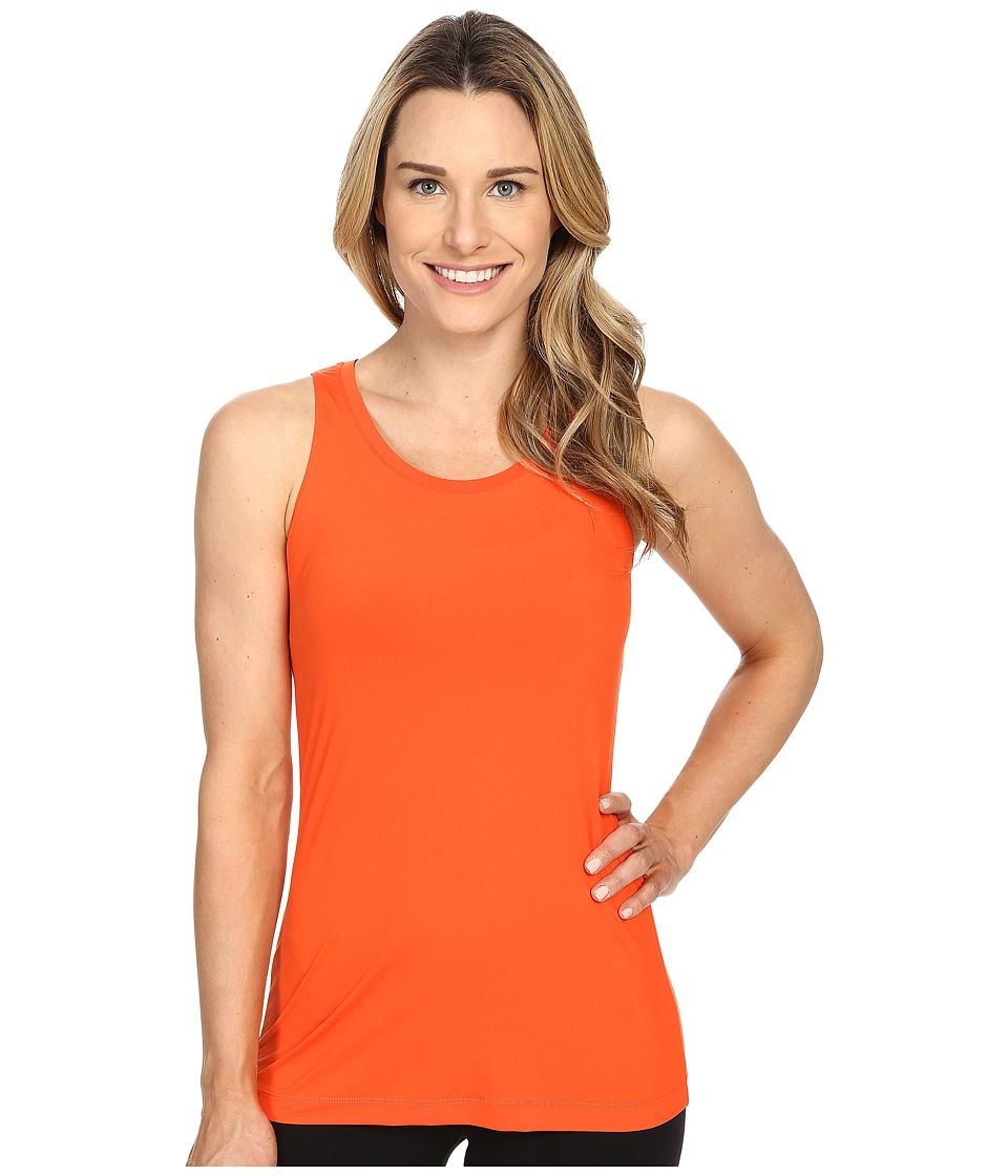Merrell - Adaptive Cinch Tank Top (Mandarin Red) Women's Sleeveless