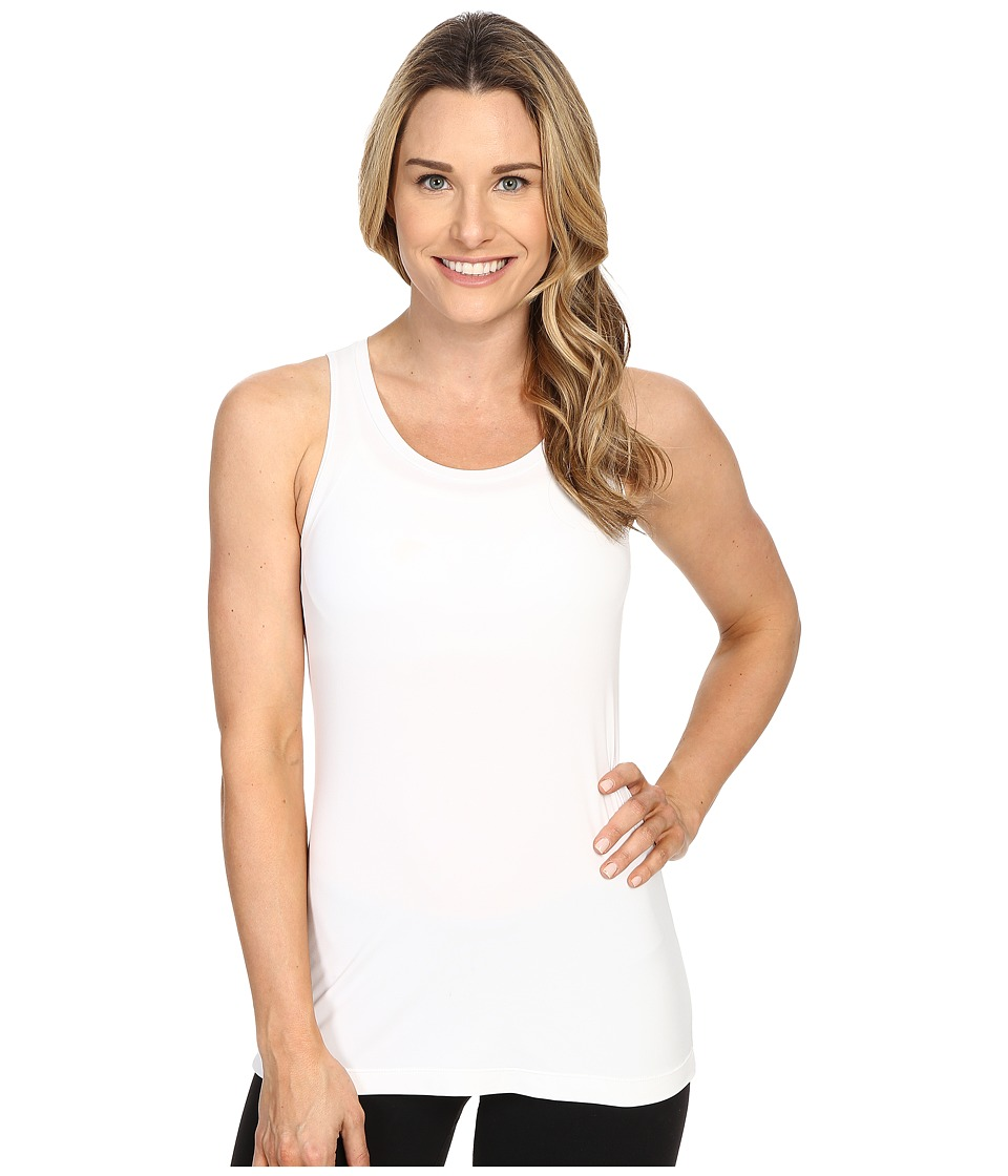 Merrell - Adaptive Cinch Tank Top (White) Women's Sleeveless