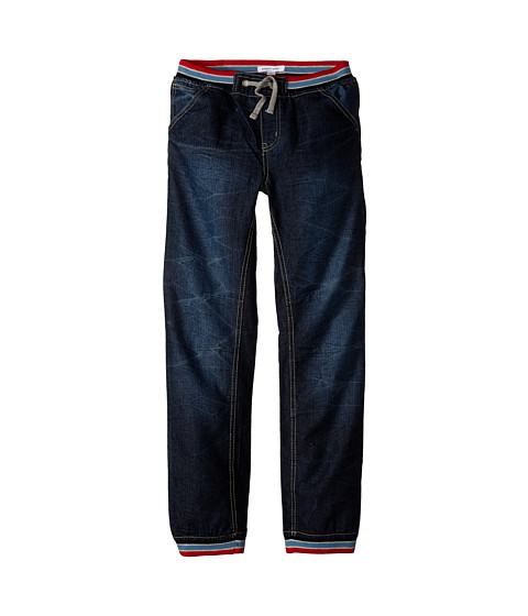 Pumpkin Patch Kids - Rib Waistband Denim Jeans (Little Kids/Big Kids) (Indigo Denim) Boy