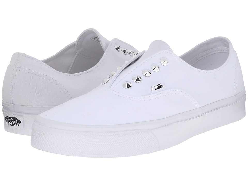 Vans - Authentic Gore ((Studs) True White) Skate Shoes