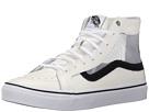 SK8-Hi Slim Cutout ((Mesh) White/Black) Shoes
