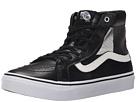 SK8-Hi Slim Cutout ((Mesh) Black/White) Shoes