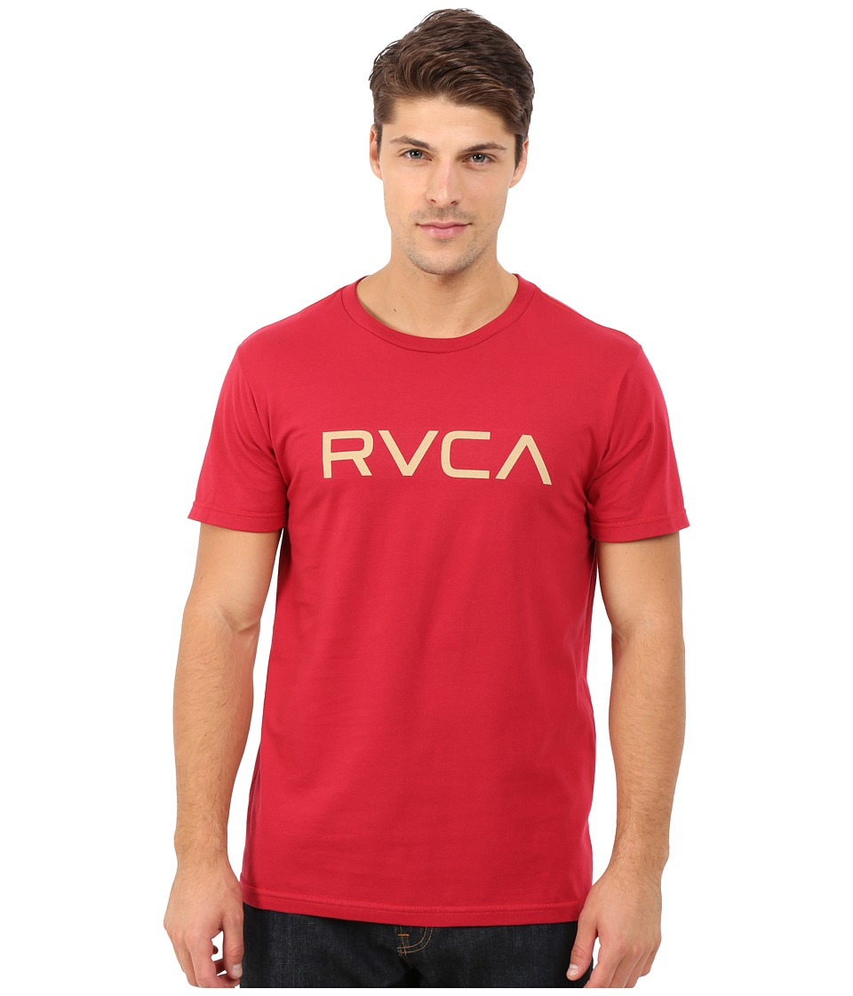 RVCA - Big RVCA Tee (Red 1) Men's T Shirt