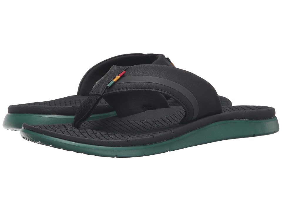 Vans - UC1 ((Rasta) Black/Green) Men's Sandals