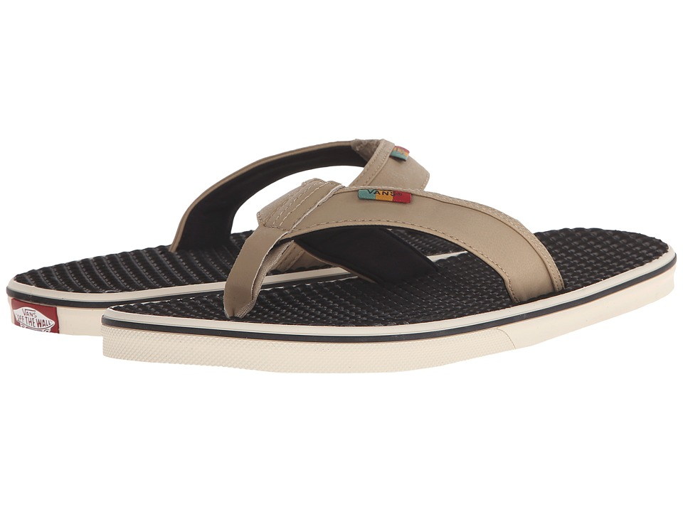 Vans - La Costa ((Rasta) Khaki) Men's Sandals