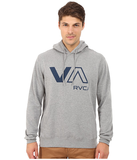 RVCA - VA Crew (Grey Noise) Men's Clothing