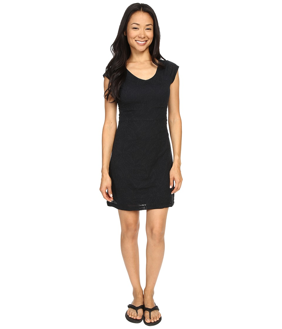 Merrell Flora Short Sleeve Dress (Black) Women