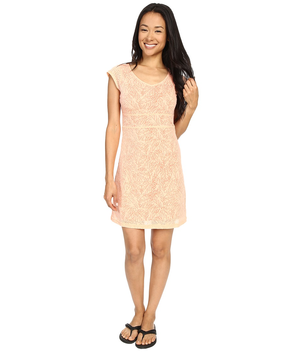 Merrell Flora Short Sleeve Dress (Peach Nectar) Women