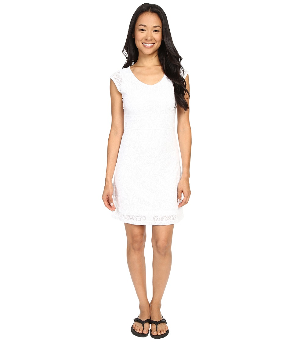 Merrell Flora Short Sleeve Dress (White) Women